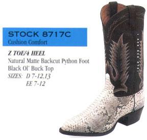 8c5d3e5460e Tony Lama Snakeskin Boots