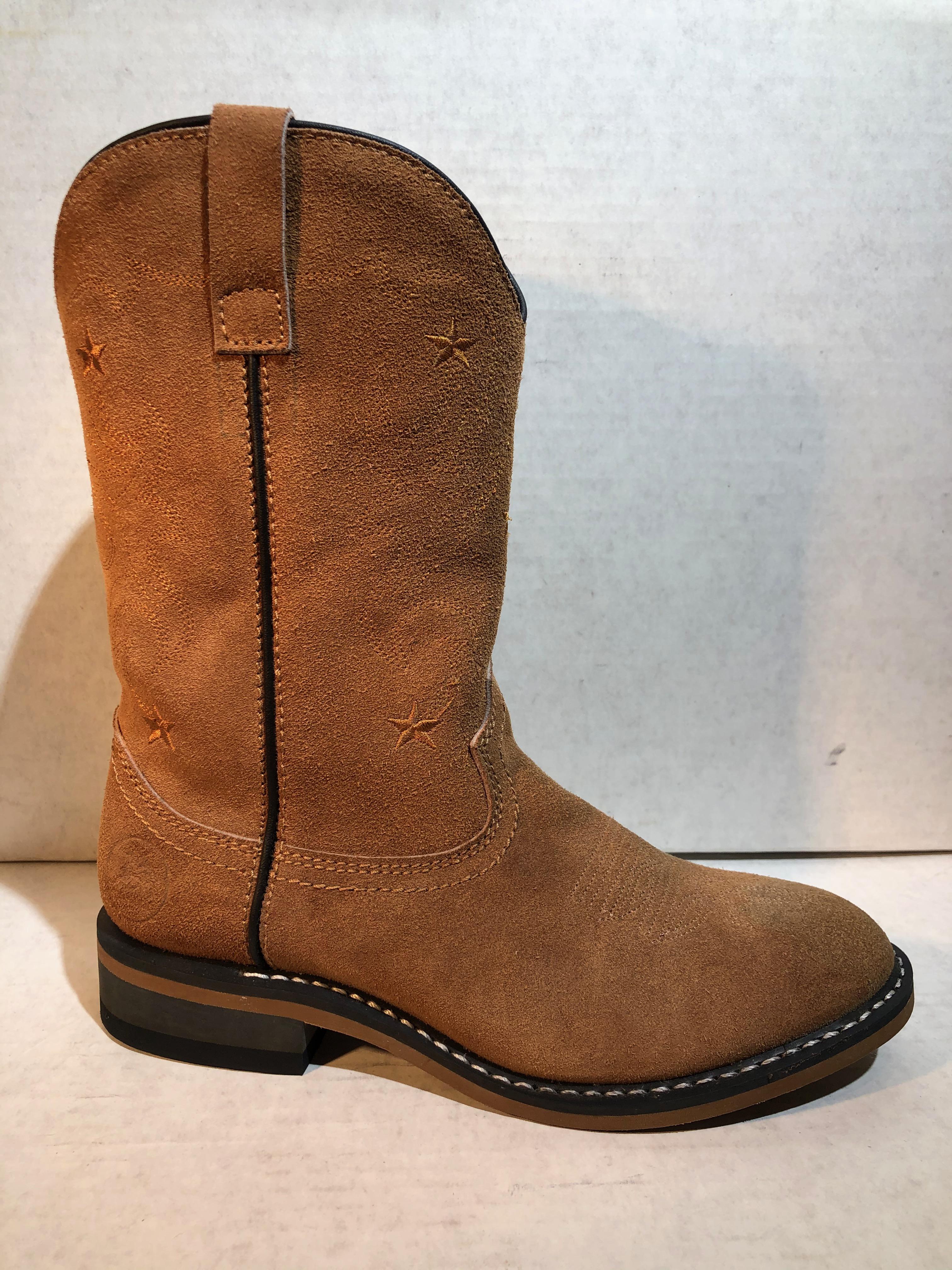 Suede Cowboy Boots (6M
