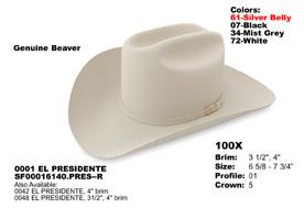 Stetson Hats Premier 1000X to 50X Page 1 45585e0921f