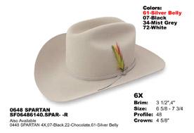 5f2d828ba0ba7 Then the Stetson 1000X DIAMANTE Cowboy Hat is simply the best ... 30X El  Patron